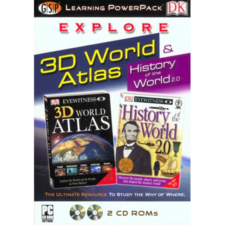 Explore 3D World Atlas Learning Power Pack Free 3d Software