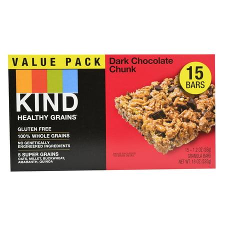 Kind Healthy Grains Bars, Dark Chocolate Chunk, 15