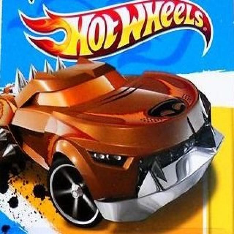 Hot Wheels - Growler Brown - 2012 New Models - Scale 1:64