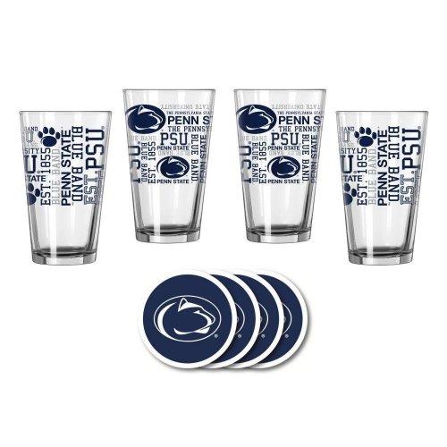 Penn State Nittany Lions Spirit Glassware Gift Set by