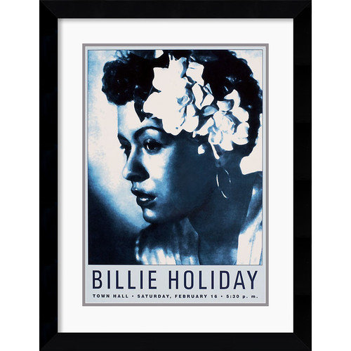 Amanti Art 'Billie Holiday: Town Hall NYC, 1946' Framed Photographic Print