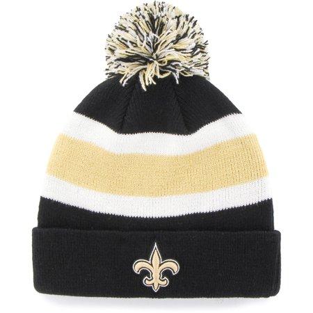NFL New Orleans Saints Breakaway Beanie with Pom / Hat - Fan Favorite