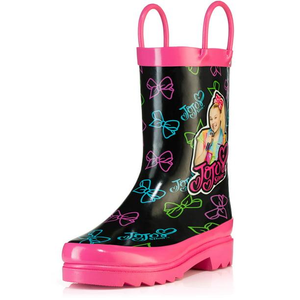 girls rain boots size 1