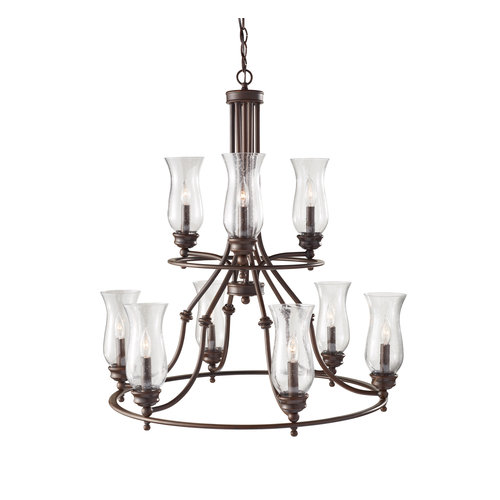 Murray Feiss F2785/3-6 Pickering Lane 9 Light Multi Tier Chandelier