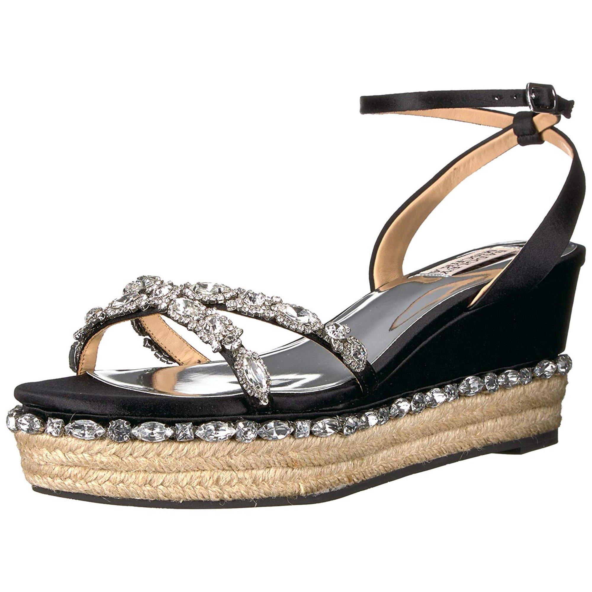 e3411b15fc3 Badgley Mischka Women's Silvie Espadrille Wedge Sandal