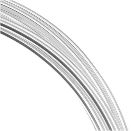 Silver Plated Copper German Bead Wire Craft Wire 20 Gauge/.8mm (6 Meters / 19.6 Feet)