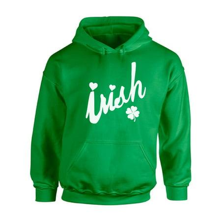 Awkward Styles Irish Hooded Sweatshirt Irish Clover Hoodie St. Patrick