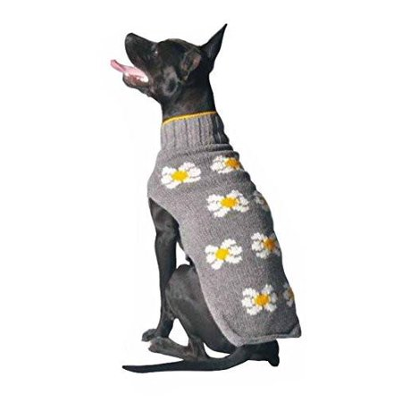 Chilly Dog Daisy Dog Sweater - Halloween Chili Dogs