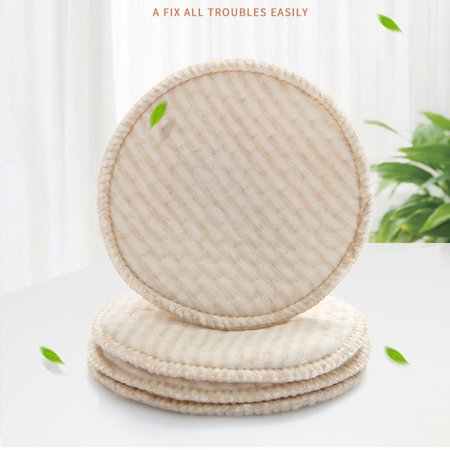 4PCS Collection Nursing Breast Pads Breastfeeding Absorbent Cover - image 7 de 9