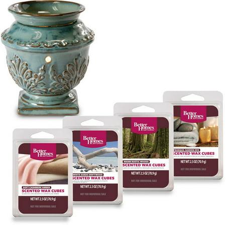 Better Homes And Gardens Wax Warmer Starter Set Antique