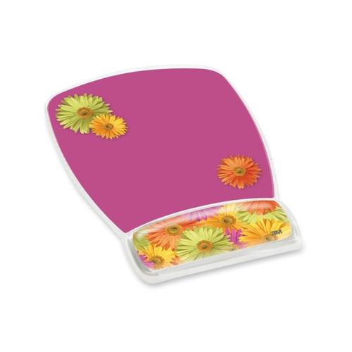 3M Gel Mouse Pads With Wrist Rest MMMMW308DS by
