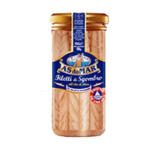 A's Do Mar Mackerel Fillets in Olive OIl 8.82 oz by A's Do Mars