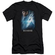 Star Trek Beyond Spock Poster Mens Slim Fit Shirt