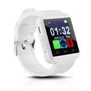 AGPtEK Black U8 Bluetooth Smart Wrist Watch Phone Mate for Android Samsung iPhone HTC LG (MTK chip) With Touch Screen