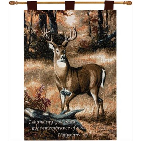 Charlotte Home Furnishings WW-7715-10772 For-t Buck avec le tapis Fine Art Verset, Brown - image 1 de 1