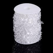 Acrylic Faux Crystal Beaded Curtain Door String Curtain Wedding Party Décor HFON