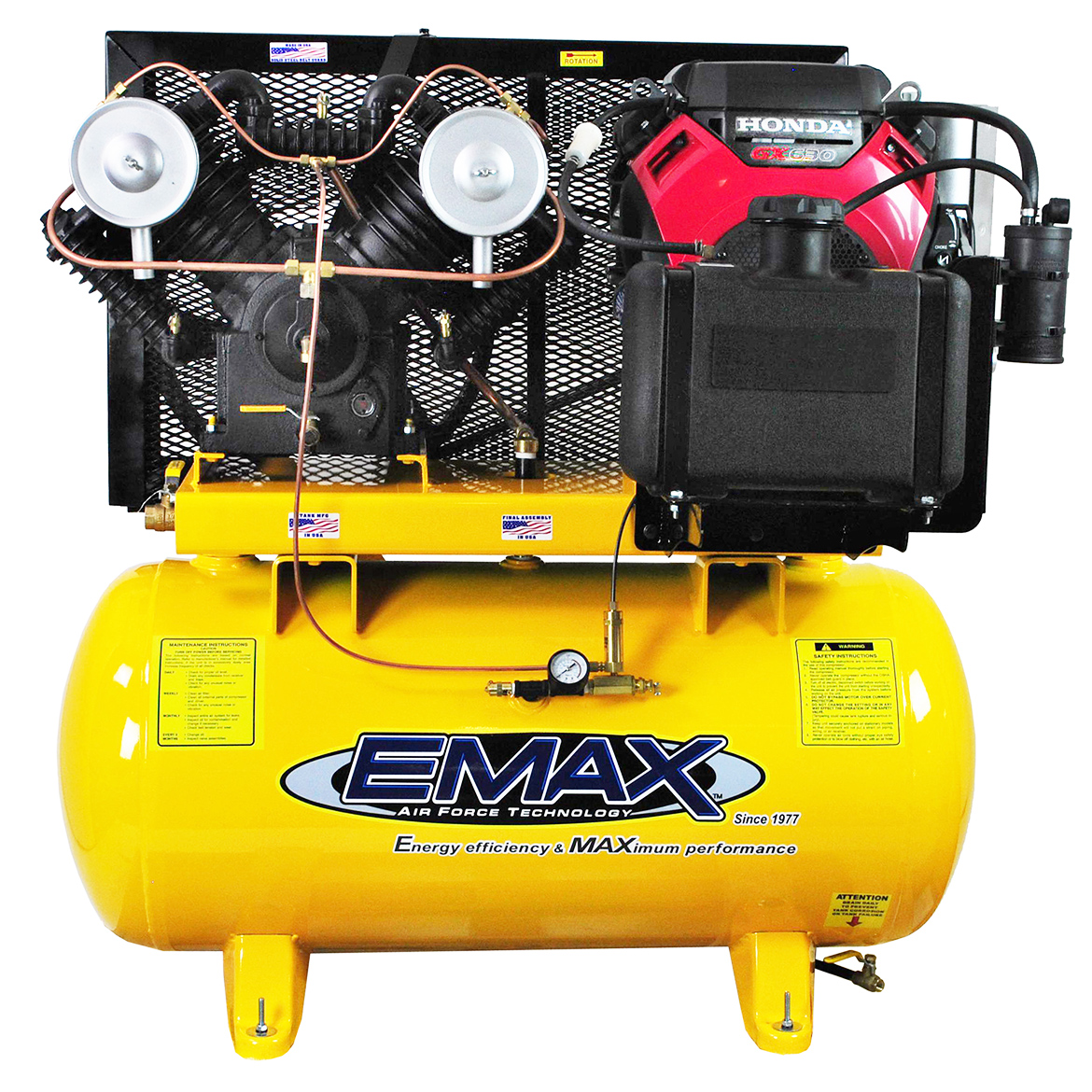 EMAX EGES1830ST 18 HP 30-Gallon 2-Stage Honda Engine Truc...