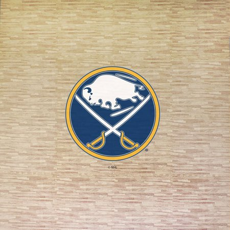 NHL Buffalo Sabres Portable Foam Puzzle Tailgate Floor Mat by