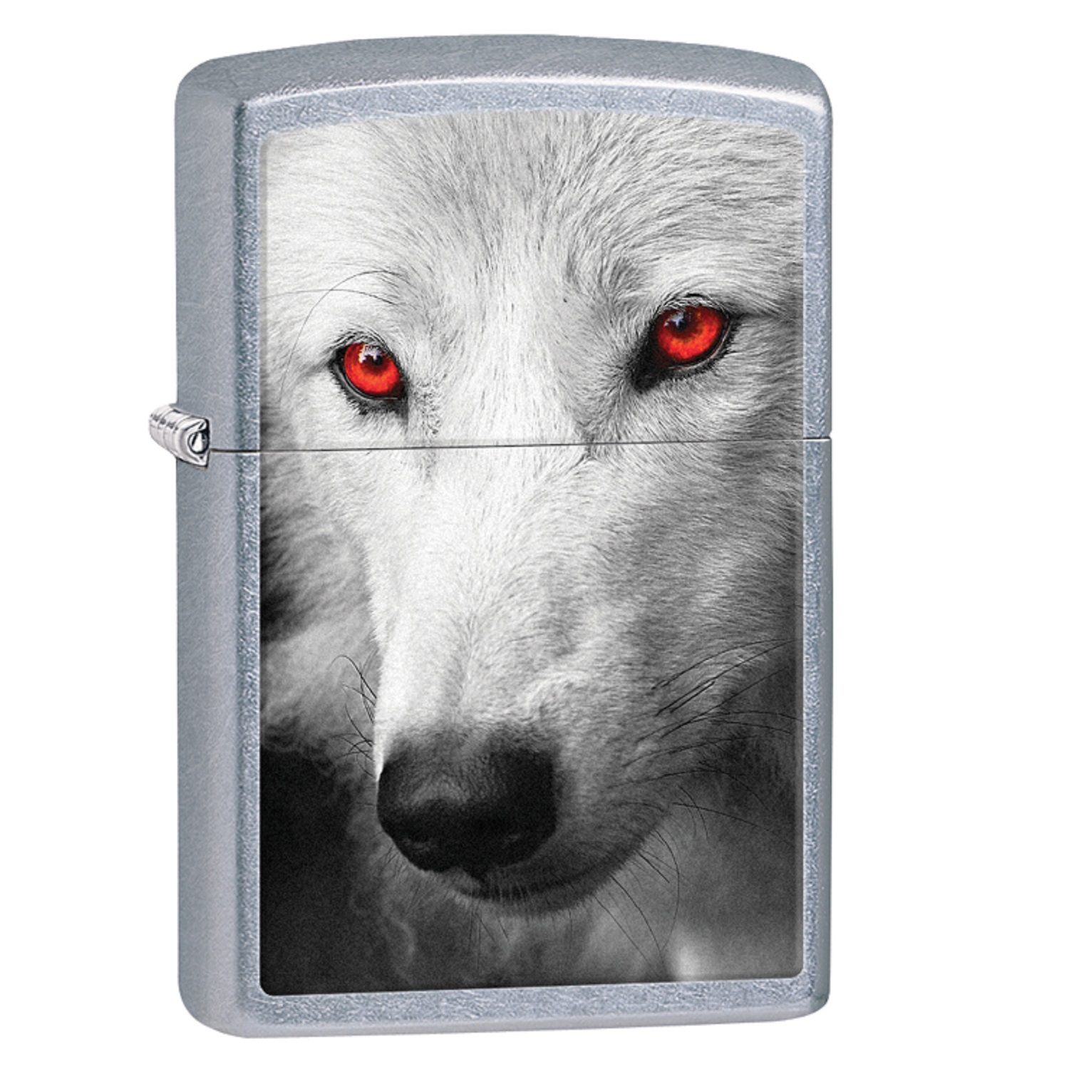 Zippo Classic Wolf With Red Eyes Lighter 28877 Walmart Com