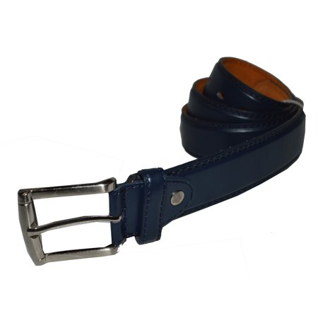 Jeans Belt Big and Tall Genuine leather by Leatherboss ()