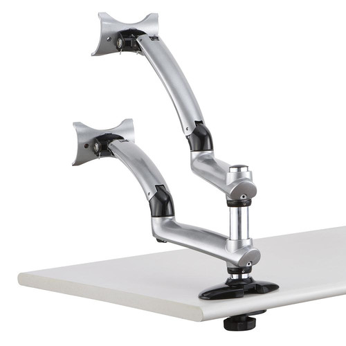 Cotytech Apple Spring Arm Height Adjustable 2 Screen Desk Mount
