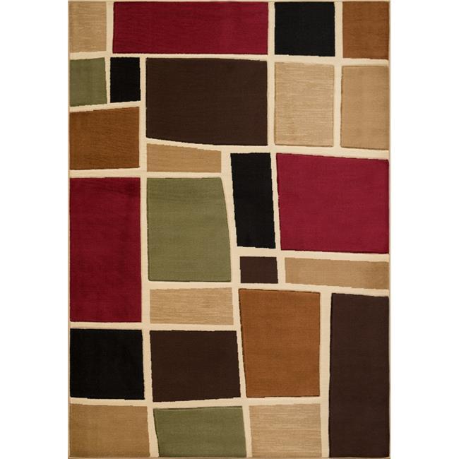United Weavers 710 01475 28 1 ft. 11 in. x 7 ft. 2 in. Studio Glazer Runner Rug, Multicolor - image 1 of 1