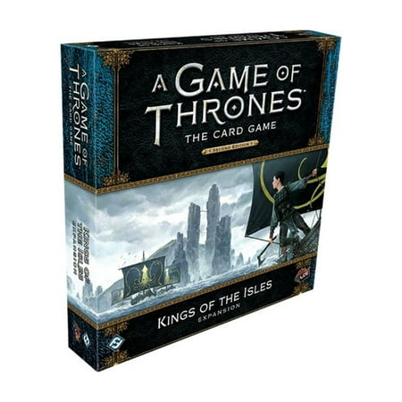 A Game of Thrones: The Card Game Second Edition - Kings of the Isles Expansion - King Of Tokyo Halloween Expansion