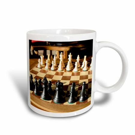 3dRose Argentina, El Calafate, Chess board, game - SA01 MME0236 - Michele Molinari, Ceramic Mug, 15-ounce