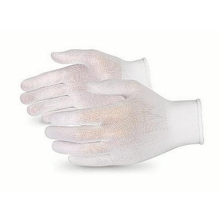 Sure Knit Seamless Knit Nylon Glove Liners, Lint-Free, Full-Finger, 12 covid 19 (Seamless Knit Nylon Liner coronavirus)