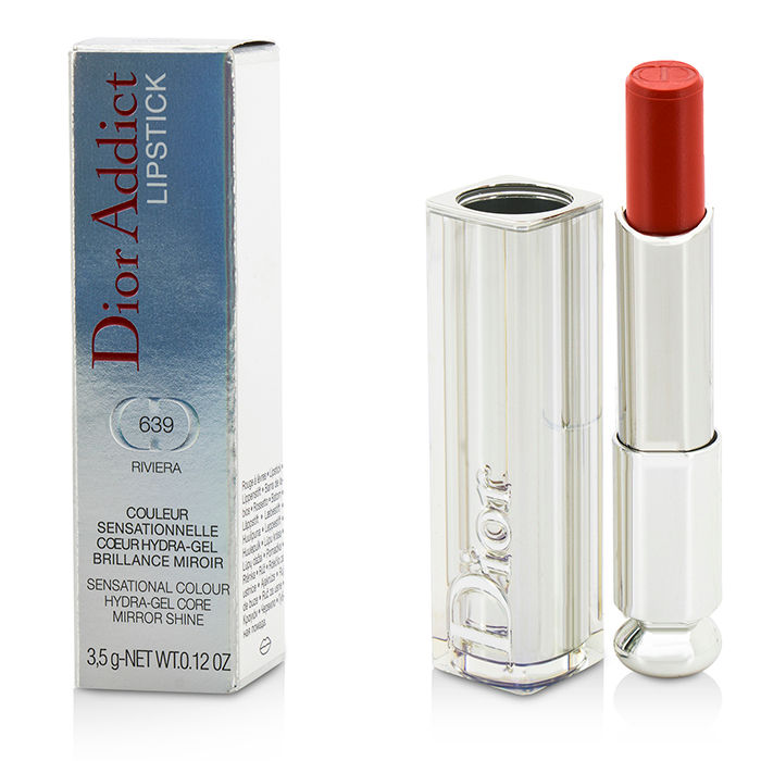 Christian Dior - Dior Addict Hydra Gel Core Mirror Shine Lipstick #639 Riviera - 3.5g/0.12oz