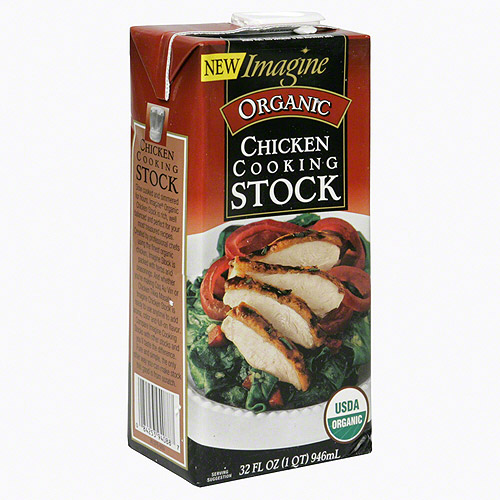 Imagine Foods Organic Chicken Cooking Stock, 32 oz (Pack of 12)