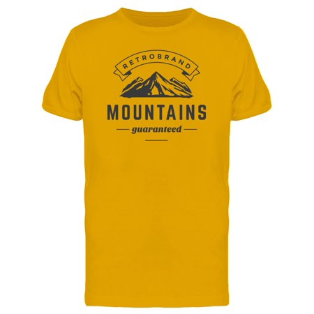 Mountains Silhouette Tee Men's -Image by Shutterstock