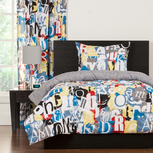 Crayola Dream OnTwin Comforter Set