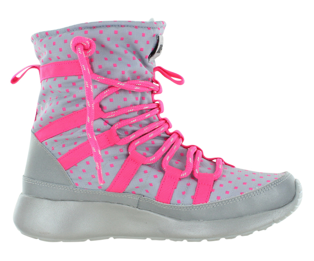 Nike Roshe Run Hi Skrbt Flash (Gs) Boot Junior's Shoes Size