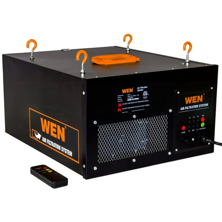 WEN 3-Speed Remote-Controlled Air Filtration System (300/350/400