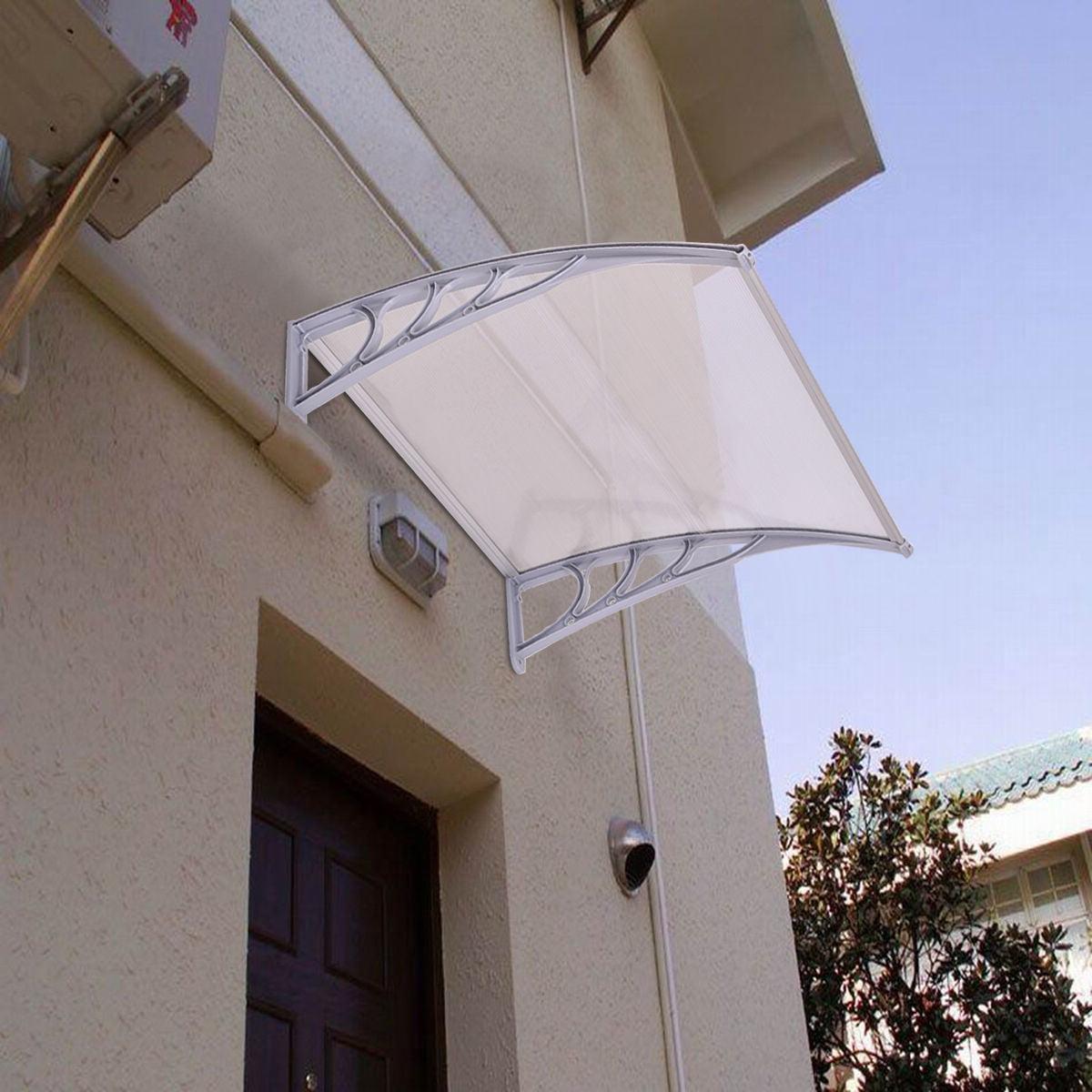 Costway 40 X 40 Window Awning Door Canopy Outdoor Front Door
