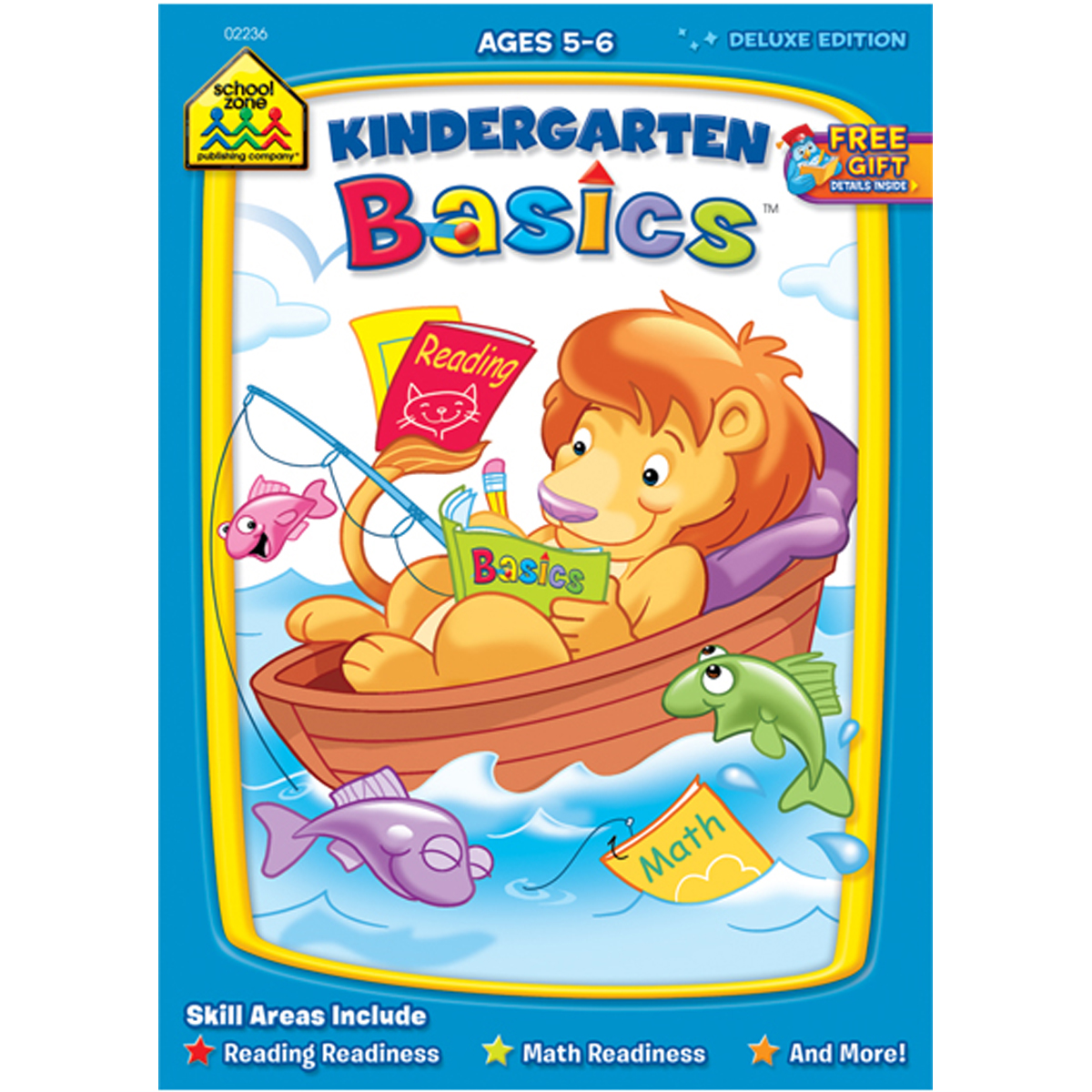 Workbook-kindergarten Basics - Ages 5-6