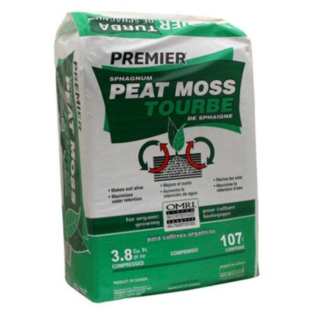 - PREMIER HORTICULTURE INC 3.8-Cu. Ft. Sphagnum Peat Moss 0082P