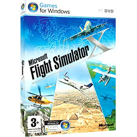Microsoft EGC-00001 Flight Simulator X Gold (Best Modern Combat Flight Simulator)