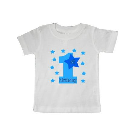 1st birthday boy stars Baby T-Shirt](1st Birthday Gift Ideas For Boys)