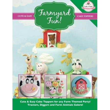 Farmyard Fun! Cute & Easy Cake Toppers for Any Farm Themed Party!](Simple Halloween Themed Cakes)