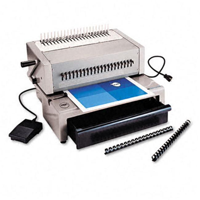 CombBind C800pro Electric Comb Binding Machine 425-SHeets 16 x 15 x 12 Gray by GamesGoneWild