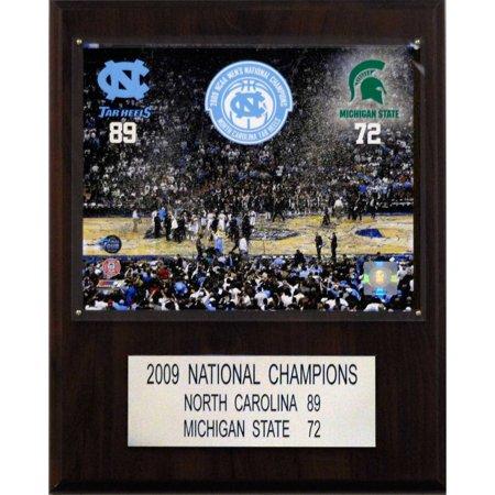 C&I Collectables NCAA Basketball 12x15 North Carolina Tar Heels 2009 National Champions Plaque