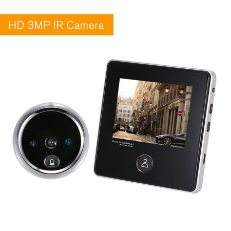3.0 inch TFT LCD Digital Door Eye Peephole Viewer 120° Wide Viewing Angle Door Eye Doorbell Camera IR Night Vision Photo Taking Super Long Standby for Home (Taking Good Photos With A Digital Camera)