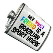 NEONBLOND Flask My best Friend a Brazilian Sport Horse Brasileiro de Hipismo, Horse
