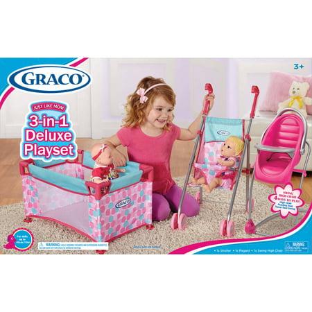 Graco Deluxe Playset - Walmart.com