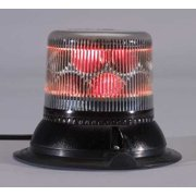 PSE AMBER LSS222CRM Dual Level Strobe,Red,Mag/Suction,LED