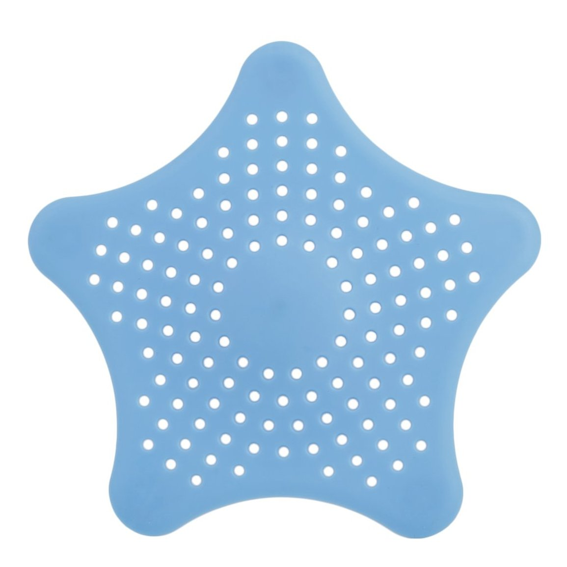 Star Plastic Bath Kitchen Waste Sink Strainer Hair Filter Drain Catcher