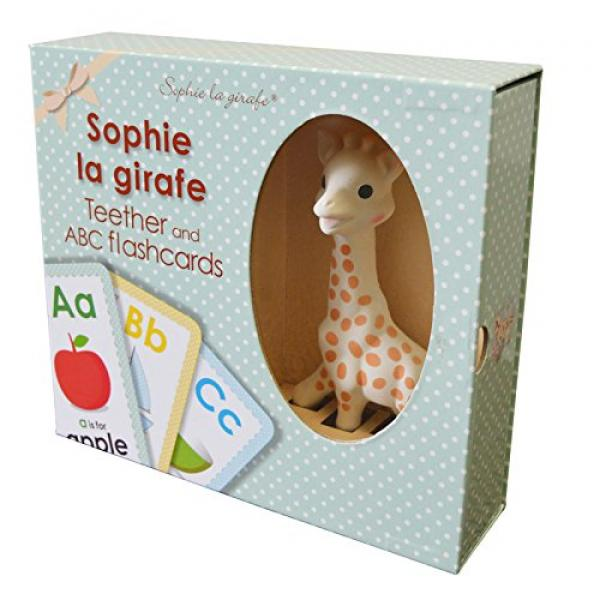 Sophie La Giraffe Teether and Flashcards Set