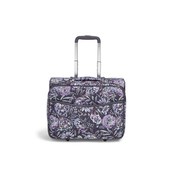 Vera Bradley Iconic Rolling Work Bag